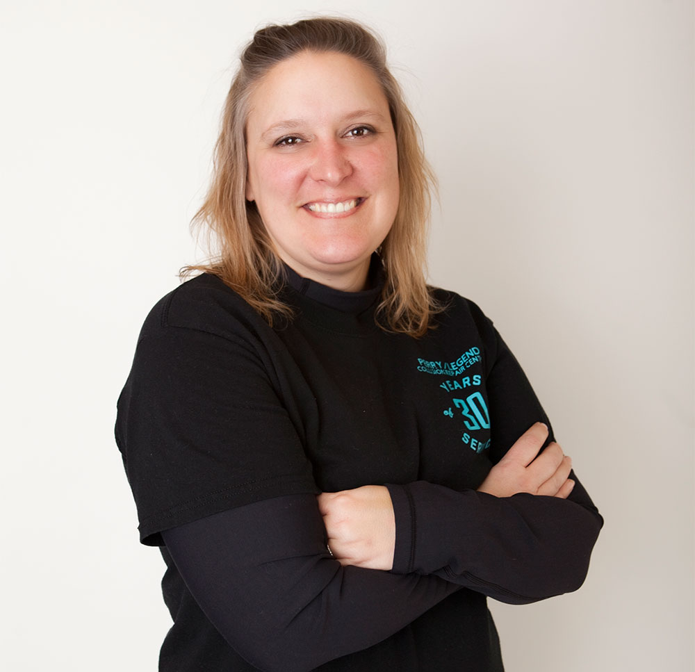 Jennifer Rajewski Manager at Perry Legend Collision Repair Center in Columbia MO Celebrating 30 Years of Service in Missouri Auto Body Repair and Vehicle Maintenance