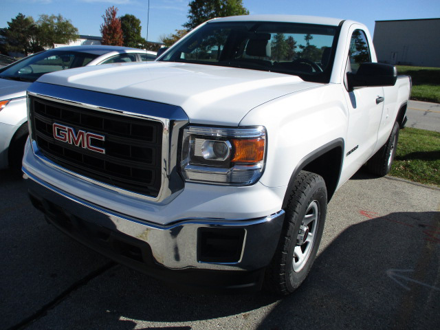 Front-Bumper-Headlight-Chrome-and-Paint-Repair-on-GMC-Truck-Affordable-Collision-Repairs-Auto-Body-Shop-In-Columbia-MO-Perry-Legend-After